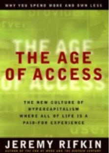 age of access jeremy rifkin