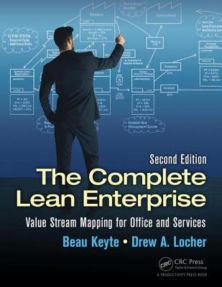 complete lean enterprise value stream mapping office services beau keyte drew locher