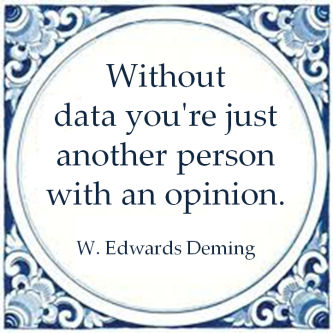 data feiten mening william edwards deming