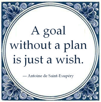 goal without plan just wish antoine saint excupery