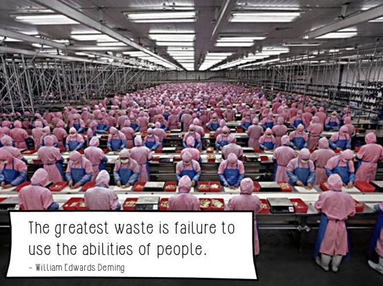 greatest waste deming failure use abilities