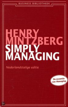 henry mintzberg simply managing