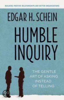 humble inquiry edgar schein asking telling