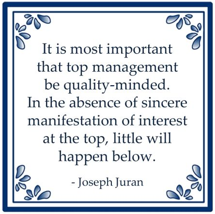 important management sincere interest little below juran
