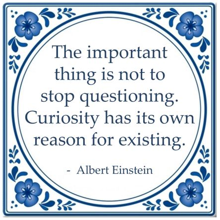 important thing never stop questioning albert einstein