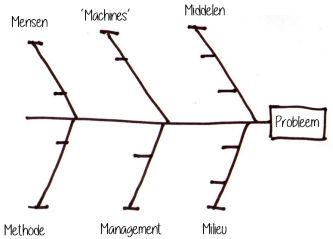 Lean six sigma ishikawa visgraat grondoorzaken analyse rca ishikawadiagram visgraatdiagram ccuart Image collections