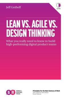 jeff gothhelf lean agile design thinking