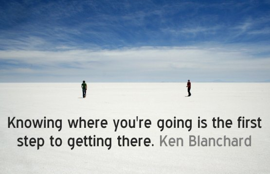 knowing where you are going ken blanchard