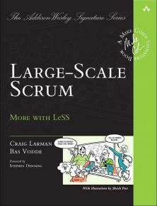 large-scale scrum more with less craig larman bas vodde