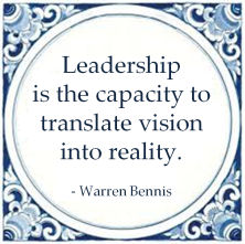leadership capacity vision reality warren bennis