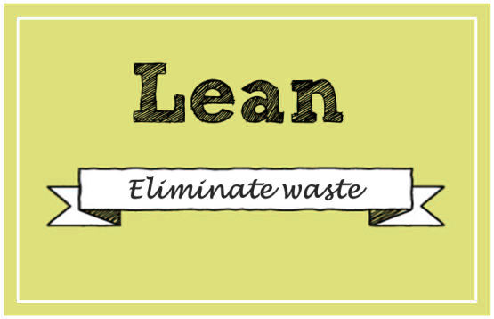 lean eliminate waste