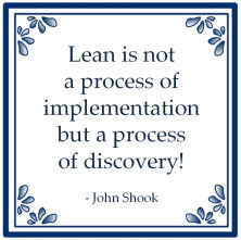 lean proces implementation discovery john shook