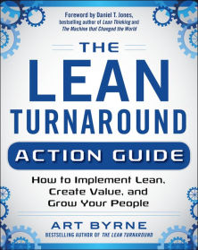 lean turnaround action guide art byrne