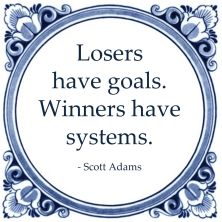 losers have goals winners have systems scott adams