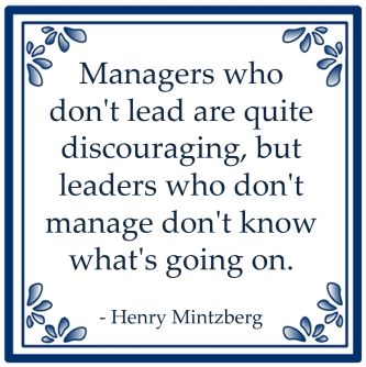 managers leaders henry mintzberg leiderschap management