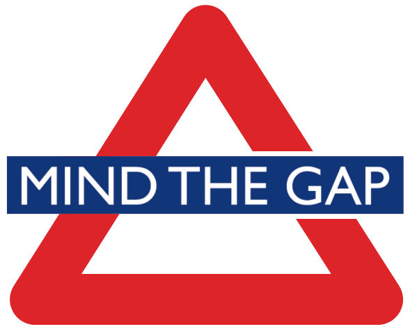 mind the gap gevaren driekhoek