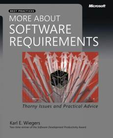 more about software requirements wiegers