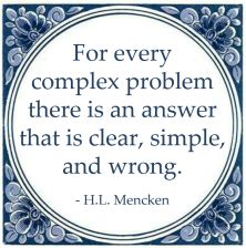problem wrong complex mencken