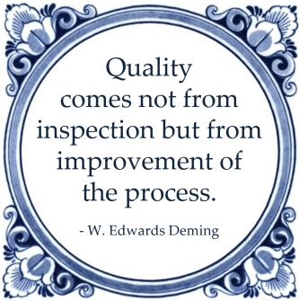 quality inspection improvement process deming