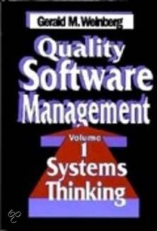 quality software management weinberg system thinking