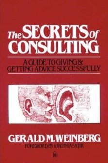 secrets of consulting gerald weinberg