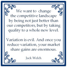 six sigma jack welch variation evil