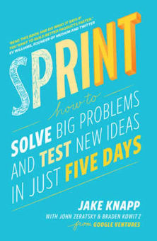 sprint solve big problems jake knapp