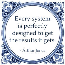 systeemdenken arthur jones system results