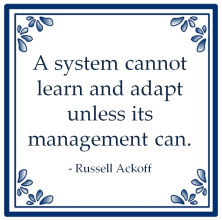 system learn management russell ackoff