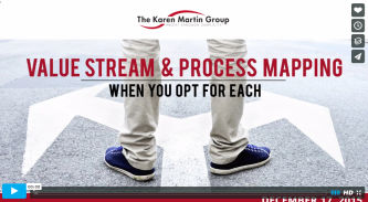 value stream mapping process mapping karin marten