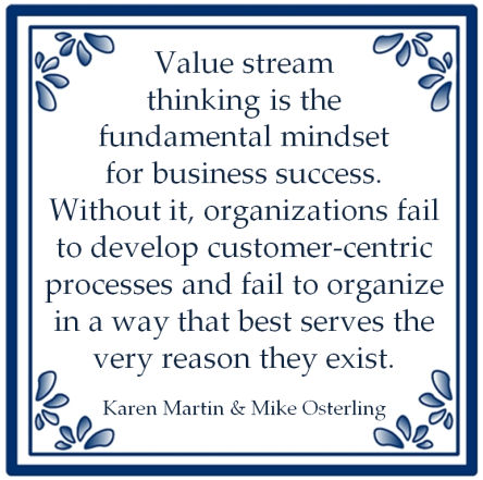 value stream thinking karen martin mike osterling waardestroom
