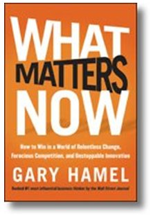what matters now gary hamel
